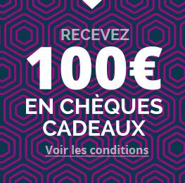 100€ cheques cadeaux - Ici Courtier Grenoble /Voiron
