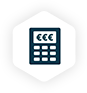 icon calculatrice - rachat de prêt regroupement